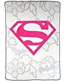 Justice League Girls Plush Blanket