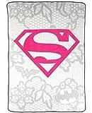 Justice League Girls Plush Blanket