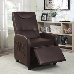 Hodedah Import Import Single Recliner Chair