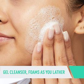Makeup Remover and Daily Face Wash for Oily Skin