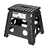 Acko Folding Step Stool - 13 inch Height Premium Heavy Duty Foldable Stool for Kids & Adults, Kitchen Garden Bathroom Stepping Stool