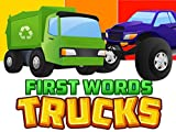 First Words/Trucks Video Book For Kids