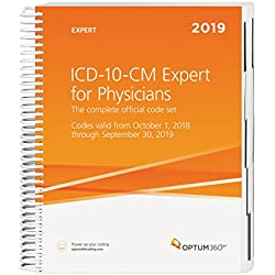ICD-10-CM 2019 for Physicians Expert 2019 with Guidelines