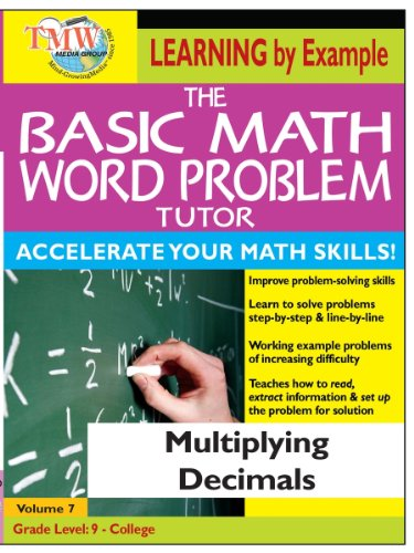 Basic Math Word Problem Tutor: Multiplying Decimals
