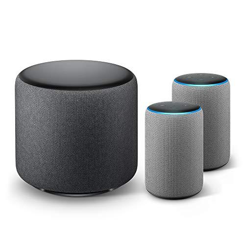 Echo Sub Bundle with 2 Echo Plus (2nd...