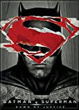 "Ata-Boy Batman v Superman Dawn of Justice Superman over Batman 2.5"" x 3.5"" Magnet for Refrigerators and Lockers"