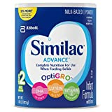 Similac Advance Infant Formula, Stage 2, Powder, 30.8 Ounces (Pack of 4)