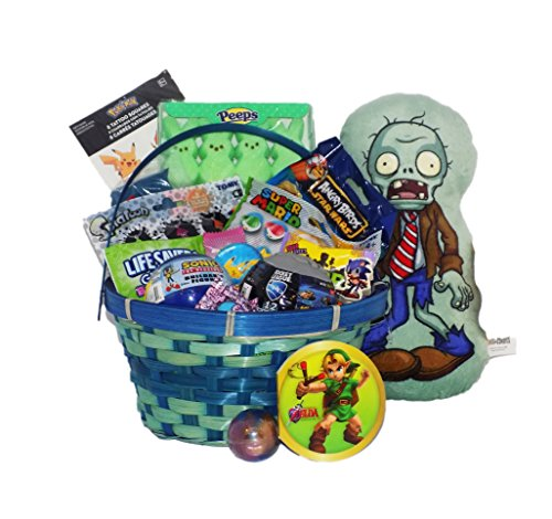 Video game themed candy and toy easter gift basket splatoon product features negle Gallery