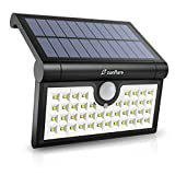 Zanflare 42 LED Solar Lights Outdoor, 3 Optional Modes Wireless Motion Sensor Light, IP65 Waterproof, Easy-to-Install Security Lights for Front Door, Yard, Garage, Deck, Porch
