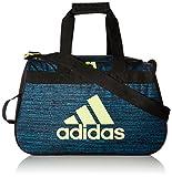 adidas Diablo Duffel Bag, Bright Cyan Subdued/Black/Frozen Yellow, One Size