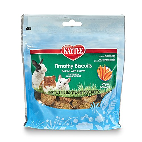 Kaytee Timothy Biscuits Baked Treat, 4oz Bag 1