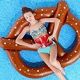 Pericross Swimming Tube Bagel Lounge Inflatable Float Swim Air Mat Beach Pool Raft