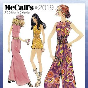 McCalls Patterns 2019 Wall Calendar, Women's Interests by ACCO Brands