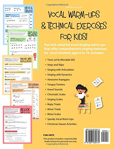 Vocal Warm-Ups and Technical Exercises for Kids!: Loney, Nikki ...