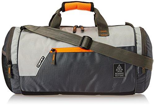 51LMnN32XWL - Gear Polyester 38 cms Grey Travel Duffle (DUFCRSTNG0406)