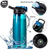 DoBrass Super Filtered Water Bottle for Hiking, Travelling, Camping and Daily Use
