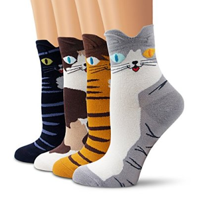 Cat Socks for woman, 51LU%2B6wyltL.jpg?resize=400%2C400&ssl=1