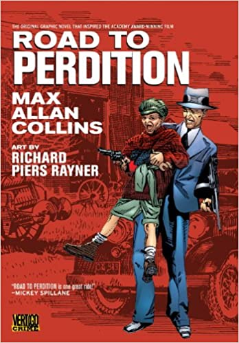 Image result for The Road to Perdition,  graphic novel