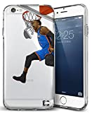 Epic Cases iPhone 6 Plus Case, for Apple iPhone, Ultra Slim Transparent Dominate The Basketball Court Series - Russ MVP, Clear Sports Case (iPhone) ... (iPhone 6 Plus)