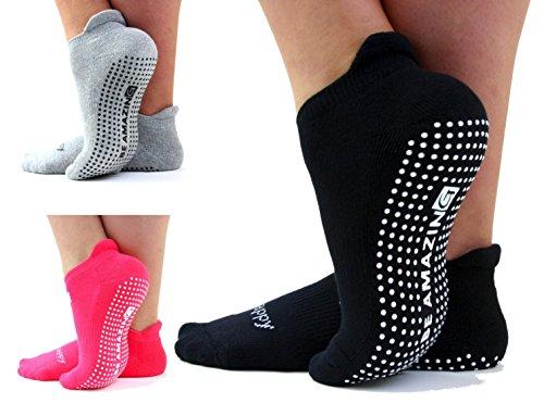 Yoga Socks Barre Sock with Grip NonSkid...