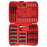 Accessory Kit. This Speed-Lok Impact Mechanics Tool Set Includes A Variety Of Professional Tools Like Phillips, Driving, Flat, Screwdriver And Drilling Bits, Universal Joint, Hex Key & Drill Stops.