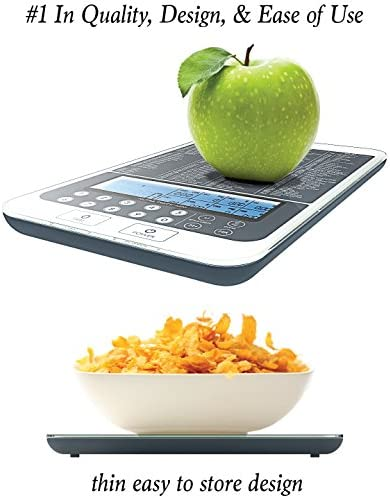 Mackie Food Scale, Digital Kitchen Scale Nutrition Portions Easy Automatic Calorie and Macro Nutrition Calculator an American Co.… 4