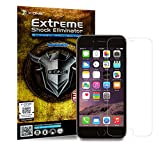 The World's Toughest Screen Protector Compatible with iPhone, X·ONE Extreme Shock Eliminator, fits iPhone 6 6s Plus