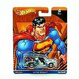 CUSTOM '52 CHEVY * SUPERMAN * Hot Wheels 2016 Pop Culture Batman / Superman Series Die-Cast Vehicle