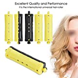 6Pcs Colorful Women Hair Rollers Wave Heat Perm Rod Hair Clip Curlers Heat-Resistance Hairdressing Hair Style Tool,4