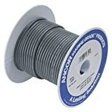 Ancor 100410 Marine Grade Electrical Primary Tinned Copper Boat Wiring (18-Gauge, Grey, 100-Feet)
