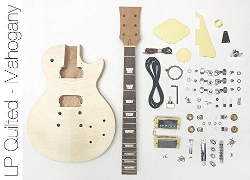 DIY Electric Guitar Kit LP Mahogany Style Build Your Own Guitar Kit