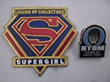 Supergirl Patch + Atom Pin