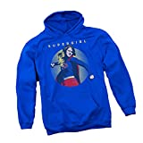 Punch -- CW's Supergirl TV Show Adult Hoodie Sweatshirt