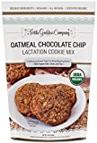 Lactation Cookie Mix (USDA Organic Certified) with Oats, Brewer's Yeast, and Flaxseed to Promote a Healthy Supply of Breast Milk in Nursing Mothers (Oatmeal Chocolate Chip)