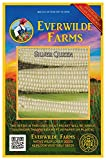Everwilde Farms - 100 Silver Queen Hybrid Sweet Corn Seeds - Gold Vault Jumbo Seed Packet