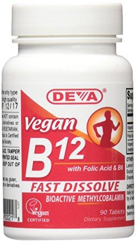 Deva Vegan Vitamins B12