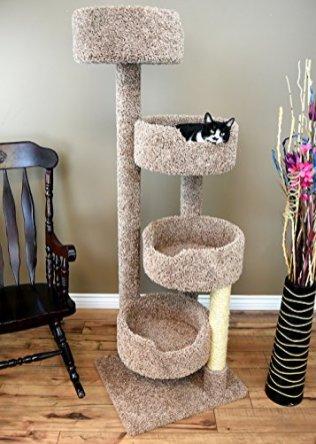 New-Cat-Condos-190209-Brown-Cat-Tree-Brown