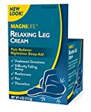 MagniLife Relaxing Legs Pain Calming Relief and Sleep Aid Topical Cream Treatments: Tingling, Restlessness, Jittery Sensations