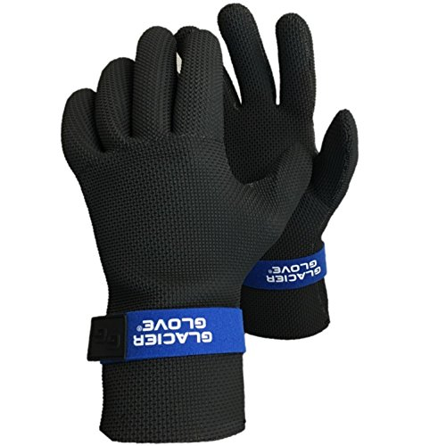 Glacier Glove Kenai Waterproof-M, Black, Medium