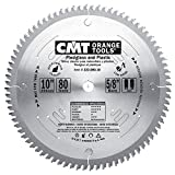 CMT 222.080.10 Industrial Plexiglass and Plastic Saw Blade, 10-Inch x 80 Teeth MATB Grind with 5/8-Inch Bore