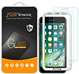 [2-Pack] Supershieldz for Apple iPhone 8 Plus/iPhone 7 Plus (5.5-inch) Tempered Glass Screen Protector with [Easy Installation Tray] Anti-Scratch, Bubble Free, Lifetime Replacement