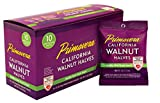 Snack Pack Walnuts, California's Best, Primavera Brand 10-1.5 bags Light Halves
