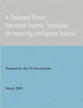 Image result for cia tradecraft primer structured analytic techniques