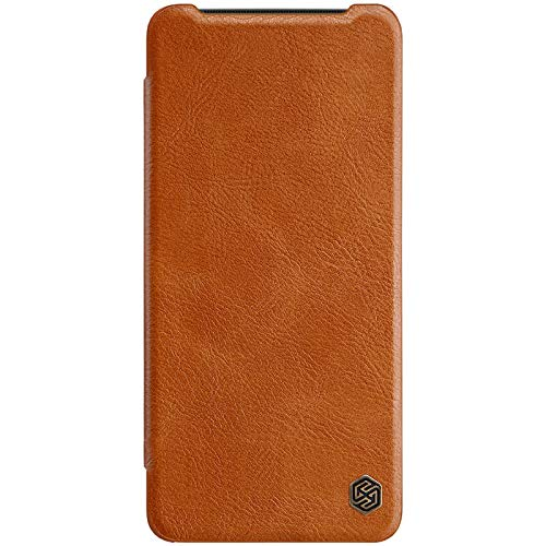 Nillkin Qin Series Luxury Leather Wallet Flipcover for OnePlus 7T (Brown) 61