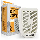 Indoor Plug-in Bug Zapper - 3.5 W / 110v with UV Light - Power Portable Home Electric Insect Trap - Odorless Noiseless - Blue Night Lamp for Removes Flies Mosquitos Gnats Moth and Bugs