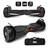 CHO[TM All Terrain Rugged 6.5 Inch Wheels Hoverboard Off-Road Smart Self Balancing Electric Scooter with...