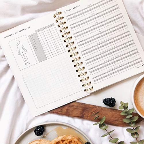 Food and Exercise Journal for Women. Track Meals, Nutrition and Weight Loss - 90 Days (Walnut Brown) 7