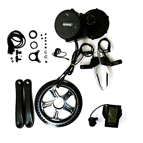 48V 500W Bafang 8fun Mid-Drive Motor Conversion Kits with built-in Controller