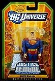 DC Universe Justice League Unlimited Fan Collection Action Figure Superman Includes Mini Kandor