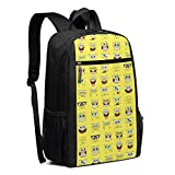 Travel Laptop Backpack Spongebob Squarepants College School Bookbag Computer Bag Casual Daypack For Women Men